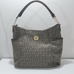 Mint Tommy Hilfiger Canvas Printed Tote